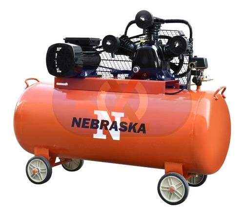 compresor de aire nebraska 200l 3000w 4hp 115psi