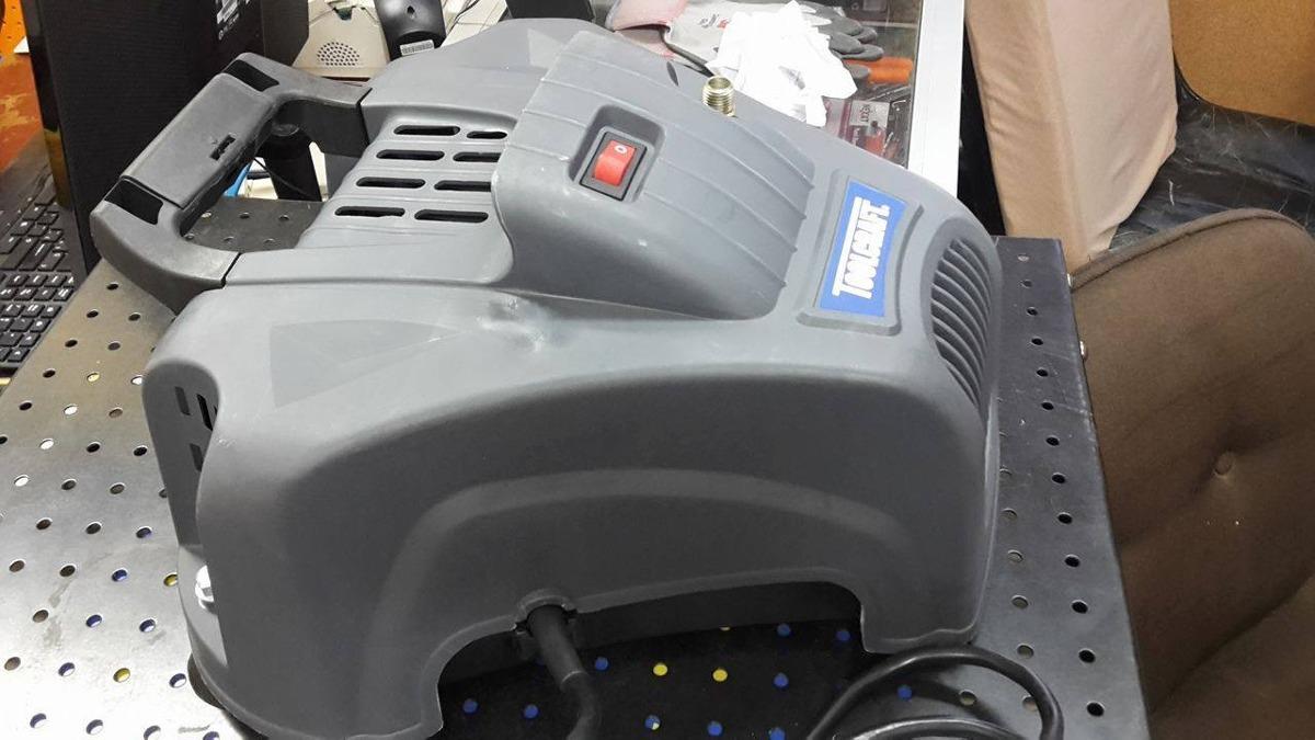 Compresor de aire portatil autolubricado marca toolcraft - Compresor de aire portatil ...