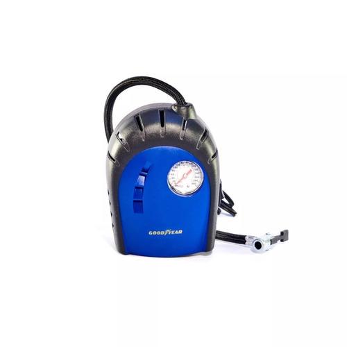 compresor de aire portatil goodyear inflador rueda auto moto