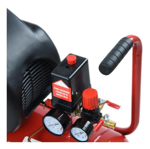 compresor de aire portátil omaha 25 lts 2 hp compacto wd2025
