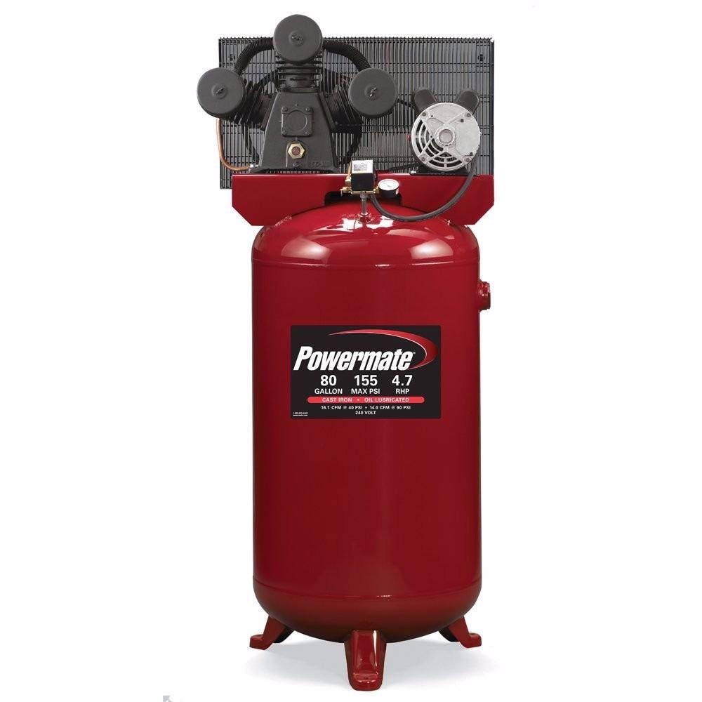 Compresor de aire powermate industrial air 5 hp 80 galones - Precio de compresores de aire ...