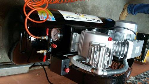 compresor de aire profesional 2hp-100litros marca ptk