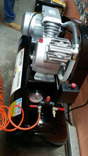 compresor de aire profesional 2hp 100litros marca ptk