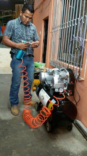 compresor de aire profesional 2hp marca ptk