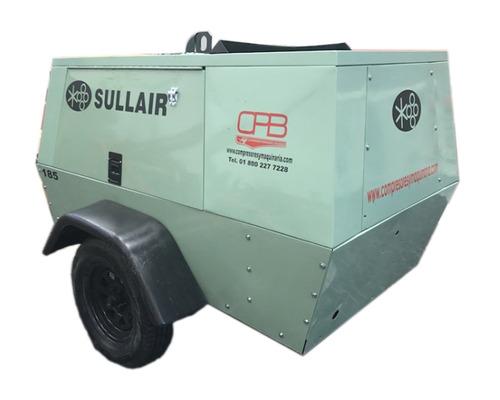 compresor de aire sullair 185pcm neumatico industrial