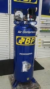 compresor de aire vertical bp 3hp 250litros 220v profesional