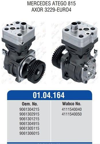 compresor de aire yumak tipo wabco 4111540050 con engranaje