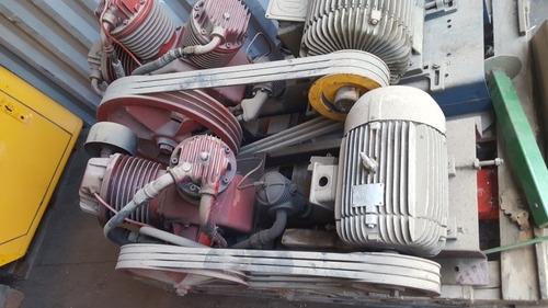 compresor de aire,triple y doble cilindro. 10 y 20 hp trifas