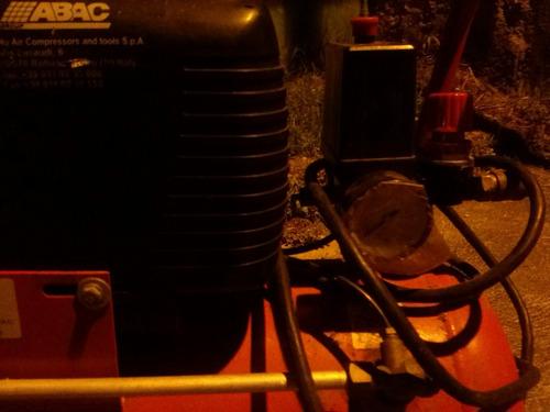 compresor de caucho de 2 hp