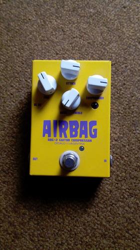 compresor de guitarra dedalo airbag