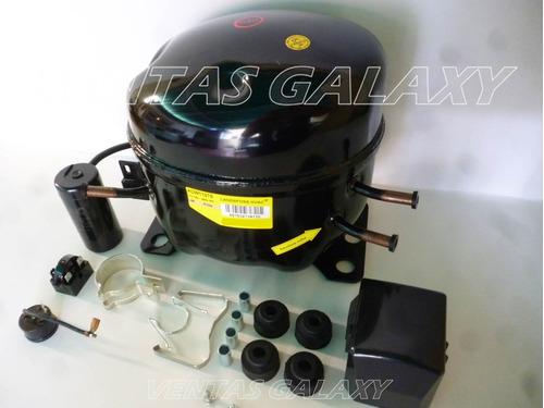 compresor de nevera 1/3 r134 landfoss kit completo nuevo