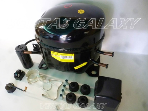 compresor de nevera 1/3hp r134 landfoss kit completo