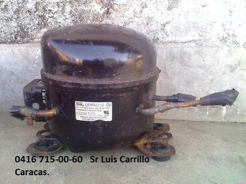 compresor de nevera usado 100%operativo buen estado caracas.