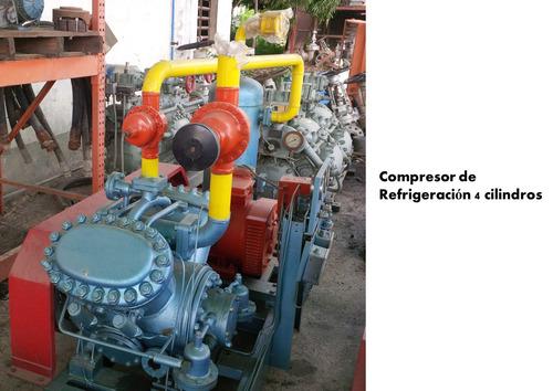 compresor de refrigeración 4 cilindros. grasso