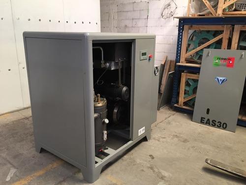 compresor de tornillo 20 hp velocidad variable