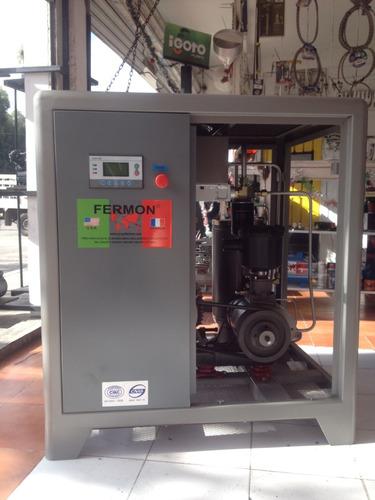 compresor de tornillo de 10 hp marca fermon