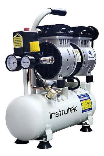compresor dental libre aceite silencioso 3/4 hp tanque 6 lts