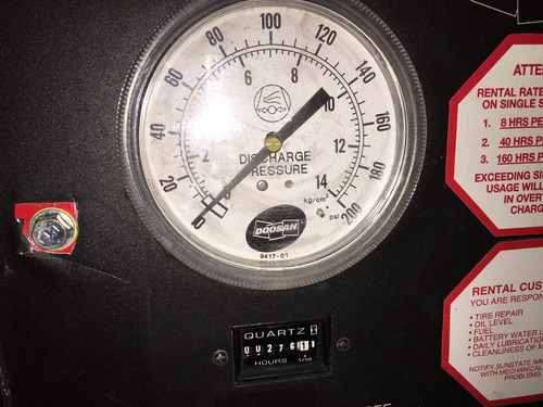 compresor doosan 185 pcm m3