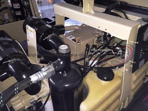 compresor doosan  ingersoll rand185 pcm