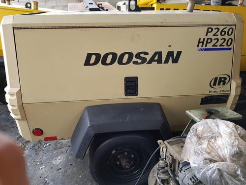 compresor doosan ir  de 260pcm año2016 impecable trabajando