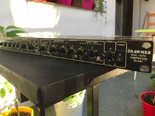 compresor drawmer dl241 b 2 canales 1 unidad de rack