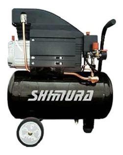 compresor electrico shimura ce25 2.0 hp/25l/115 psi/8 b/25kg
