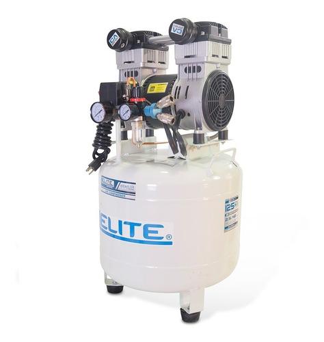 compresor elite de aire médico libre de aceite, 2.5 hp, 42 l