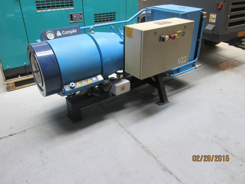 compresor estacionario electrico nuevo compair 30hp 129 cfm