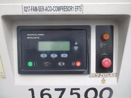 compresor estacionario ingersoll rand 320cfm electrico