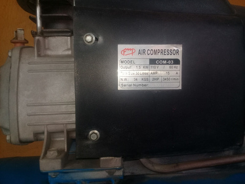 compresor fermetal 50 litros 2hp 120v