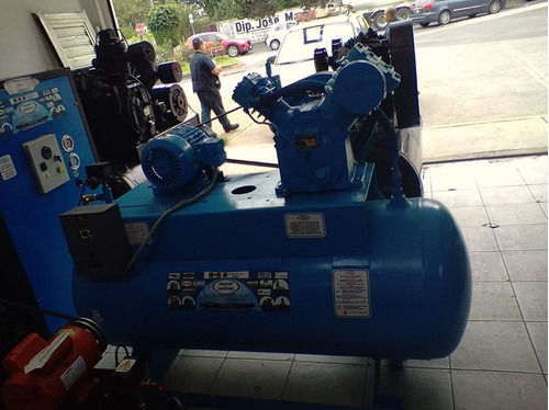 compresor fermon 7.5h.p ingersoll rand con tanque de 500 lit