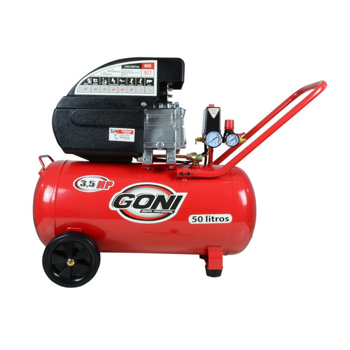 compresor goni 977 3.5 hp 50 litros envío gratis