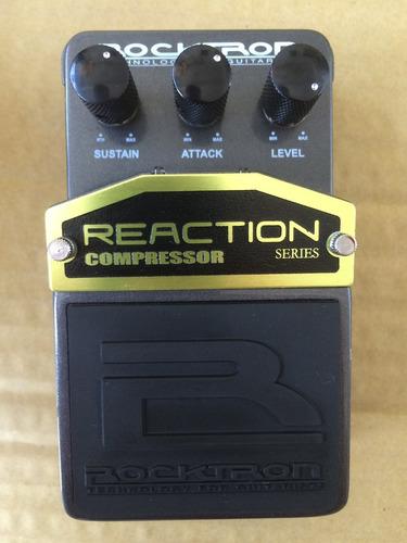 compresor guitarra rocktron reaction true bypass sustain