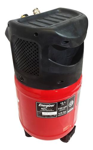 compresor inflador 12 lts energizer ezc12d 100psi auto mot