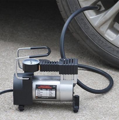 compresor inflador auto portatil 12v,  maxima potencia 120w