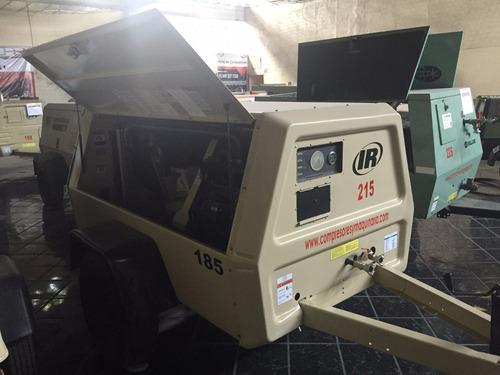 compresor ingersoll rand 185 pcm seminuevo $130.000