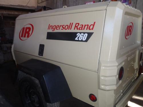 compresor ingersollrand 260pcm seminuevo 2009 2300hrs