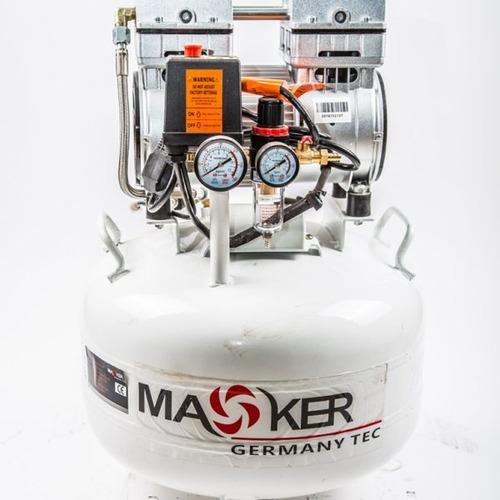compresor insonoro 35lts maoker toolstock