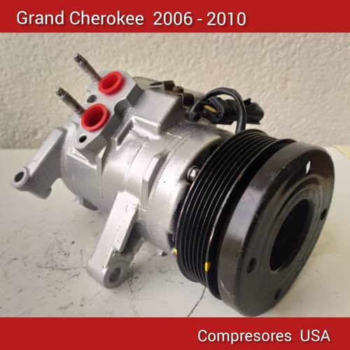compresor jeep cherokee kk liberty importados