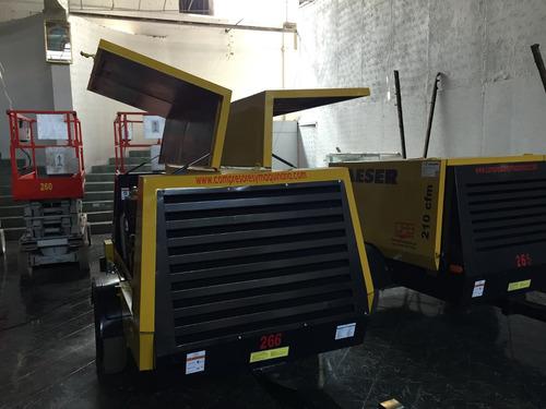 compresor kaeser m57 capacidad 210pcm motor kubota
