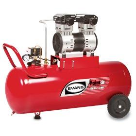 compresor libre de aceite 2 hp 108l paintair evans el100me20