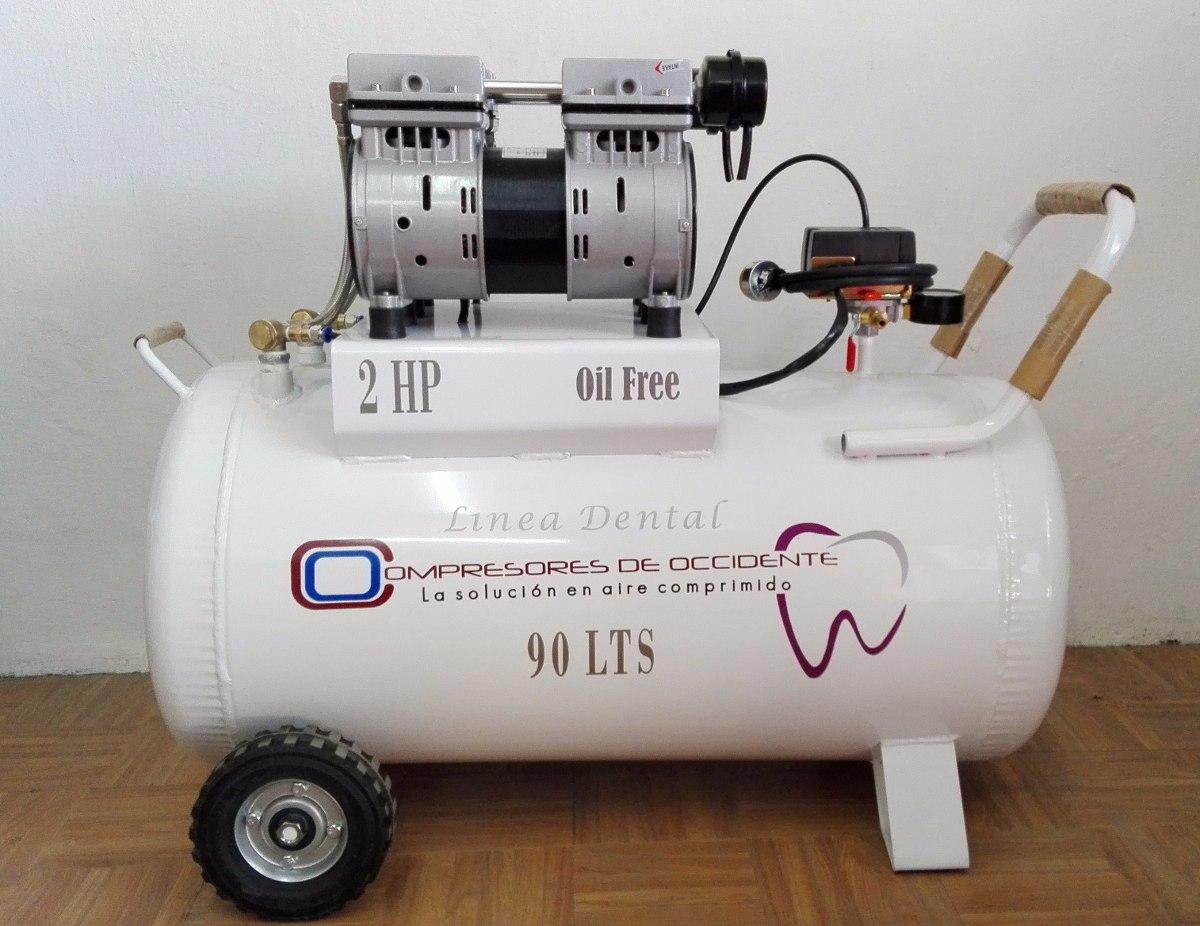 Compresor libre de aceite 2 hp compresores de occte for Aceite para compresor
