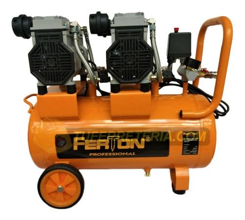 compresor libre de aceite 60 lts ferton