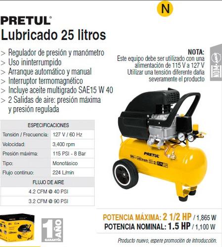 compresor lubricado pretul oferta aire 21686