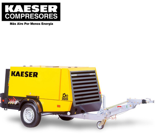 compresor m100 portatil  / mca. kaeser