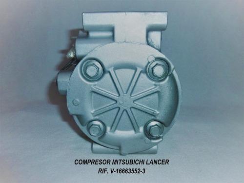 compresor mitsubishi lancer touring glx remanofacturado