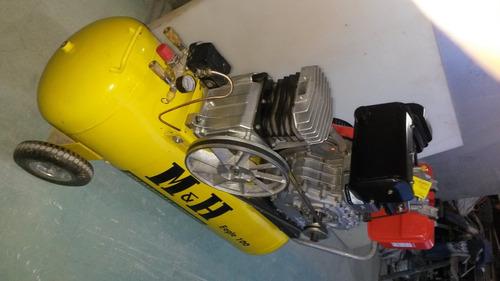compresor motor a diésel 10hp 100lt 120psi marca m&h