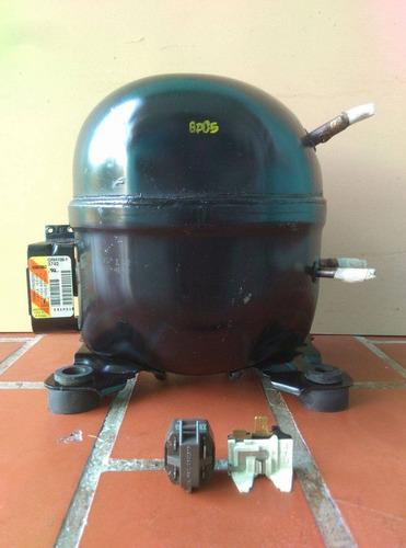 compresor motor de nevera 1/5 garantía 30 días r134a y r12