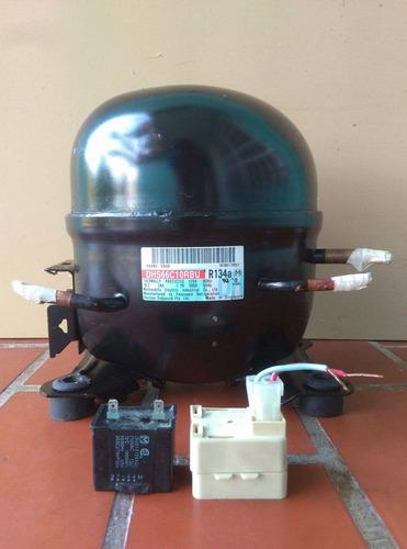 compresor motor de nevera 1/6 garantía 30 días mayor y detal