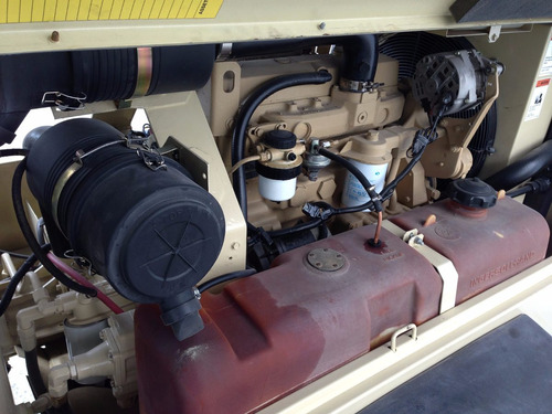 compresor motor diesel 185pcm 185cfm ingersoll rand año 2010